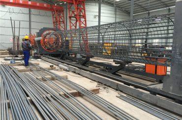 Plej bona prezo soldata drato mesh rulila #ma? ino, Plifortiganta kaĝon kudron welder diametro 500-2000mm